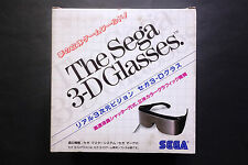 THE SEGA 3-D Glasses Sega Master System/MARK III JAPAN Very.Good.Condition C.I.B