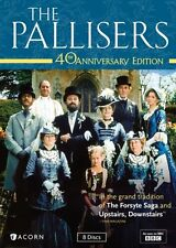 THE PALLISERS COMPLETE SERIES 40TH ANNIVERSARY EDITION New 8 DVD Set