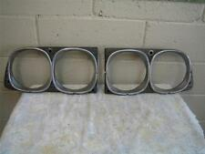 Toyota MK 2 Corona 1 Pair of Head Lamp Rims -Left and Right-