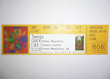 1996 Olympic Games Atlanta TICKET TENNIS Semifinals Women's Singles 31 July 1996