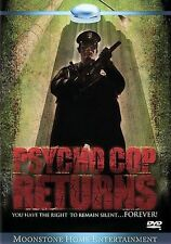 Psycho Cop Returns aka Part 2 (DVD, 2005) RARE OOP GORY NUDITY HORROR COMEDY