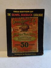 Vintage 1902 Edition Sears, Roebuck Catalogue Reprint