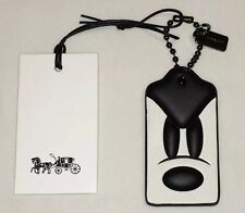 Disney x Coach MICKEY LIMITED EDITION PONDEROUS HANG TAG BAG CHARM FOB 66518 NEW