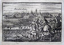 Dunkerque Dünkirchen 1712 Truppen von Marschall Villars Spanischer Erbfolgekrieg
