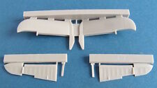 Pavla U72170 1/72 Resin Bristol Beaufighter Mk.X Tailplane late version Airfix