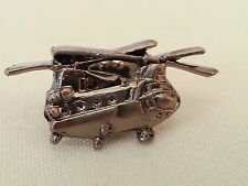 CH-47 Chinook US Army Boeing Helicopter Pin / Silver Color / Style 1 / NEW