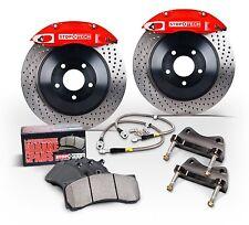 StopTech Mazda RX8 Big Brake Kit 83.548.4300.72 328mm 4 Piston Red Caliper