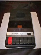 Realistic CTR-55 Portable Cassette Tape Recorder Player Vintage Battery 14-1005