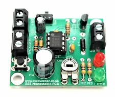 Beginners Electronic Project Kit - 555 Monostable Timer Project - UK Seller