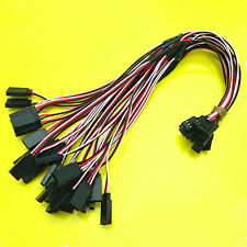 15 x 30cm 26awg Y Servo Extension Cord Lead Cable-Helicopter Airplane Car Truck