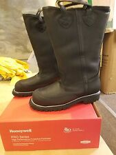 PRO Leather Fire Boots Model 5050 NFPA 1971 2013 Edition Size 11.5 E