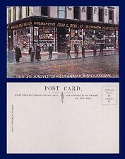 UK SCOTLAND CHARLES REIS CO. GOLD & SILVERSMITHS JAMAICA ST GLASGOW CIRCA 1905