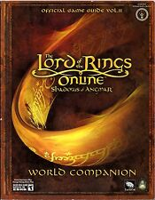LORD OF THE RINGS ONLINE: SHADOWS of ANGMAR WORLD COMPANION lotr j.r.r. tolkien