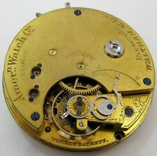 Waltham Riverside 11 jewels model 1874 & 1884 14s, Watch movement HC for parts