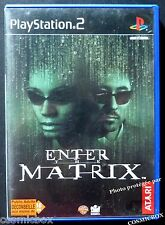 ENTER the MATRIX jeu video pour console SONY PlayStation 2 PS2 complet testé