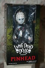 LIVING DEAD DOLLS HELLRAISER PINHEAD DOLL w/PUZZLE BOX NEW! MEZCO 2016