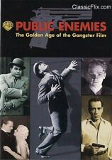 PUBLIC ENEMIES GOLDEN AGE OF THE GANGSTER FILM WIDESCREEN WARNER DVD FREE SHIP