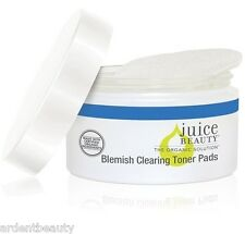 Juice Beauty Natural Blemish Clearing Toner Pads for Acne, 50 ct