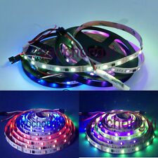 5M WS2811 IC 5050 RGB Dream Color 30LED/M DC12V Pixel Strip White PCB