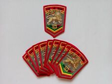 "10 Rasta Lion of Judah Embroidered Patches 3.5""x2.5"""