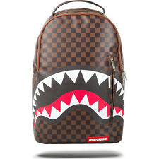 Sprayground Shark in Paris Backpack Back to School LV NWT Louis Vuitton Pattern