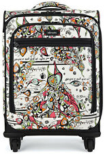 Sakroots Artist Circle Carry On Bag Spinner Luggage - Optic Song Bird