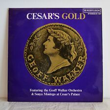 GEOFF WALKER ORCHESTRA Cesar's Gold UK FUNKY EASY LP Pete Moore REDIFFUSION '75
