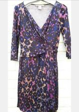 DvF Diane von Furstenberg genuine wrap dress. Weddings races size 10-12