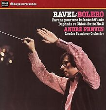 LONDON SYMPHONY ORCHESTRA/PREVIN - Ravel/Bolero/Daphnis et Chloe. New LP sealed