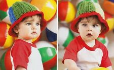 FUN IN THE SUN Baby Beach Hat/Crochet Pattern INSTRUCTIONS ONLY
