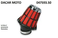 047593.50 RED FILTER E5 PHVA/PHBN MIKUNI NERO Dell'Orto PHF 30 36 MALOSSI