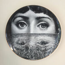 Porcelain Plate No 9 by Atelier Fornasetti