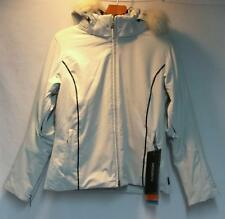 Descente Women's Zetta Elegance Snow Ski Winter Jacket White Black Size 14 NEW