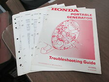 Honda Portable Generator 1984 Factory Troubleshooting Guide Manual