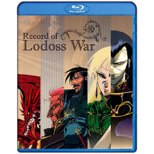 Record of Lodoss War Complete Collection Bluray Box 1-13 ENGLISH Region A US