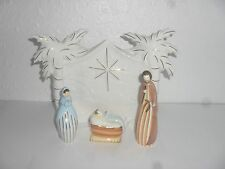 CARNELIAN ONE STARRY NIGHT CHRISTMAS NATIVITY SET NEW AND BOXED, NOT DOULTON.