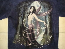The Mountain Sexy Topless Angel Moonlight Purple T Shirt L