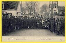 cpa Environs d' Arras AUCHY au BOIS en 1915 (Pas de Calais) Militaires ZOUAVES