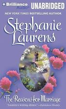 The Reasons for Marriage by Stephanie Laurens (2011, CD, Unabridged)