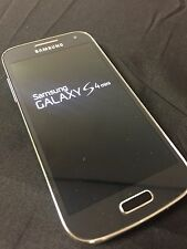 Samsung Galaxy S4 Mini *16GB* - SGH-I257 - Black AT&T FACTORY UNLOCKED *B*- 7/10
