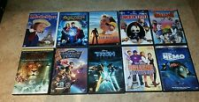 10 Disney DVD Lot - TRON/ NEMO/ NARNIA (10 AWESOME KID'S DVDS) **VERY CLEAN**