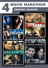 4-Movie Marathon: Conspiracy Collection (2016, REGION 1 DVD New)