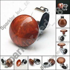 Brown Car Steering Wheel Spinner Knob Auxiliary Booster Aid Control Handle