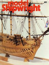 Model Shipwright No 40  (Conway 1982 1st)