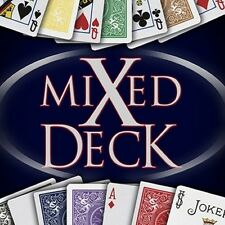 Mixed Gaffed Deck Bicycle Playing Cards - Make Your Own Card Tricks With Flair!