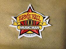 Ernie Ball MusicMan Music Man Star Sticker - NEW