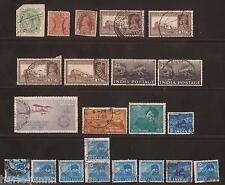 COLLECTION OF 1890 ONWARDS INDIAN STAMPS USED SEE SCAN FOR BACK AND FRONT