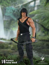 Haoyutoys 1/6 Jungle WOLF Rambo Stallone mobili MASCHIO Action Figure