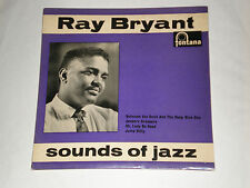 THE RAY BRYANT QUINTET - SOUNDS OF JAZZ -  RARE 1959 FONTANA LABEL E.P. - EXC.