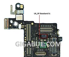 logic board banseband speicher U6_RF ic chip su karte mutter für iphone 5S